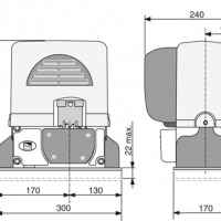 Комплект Came BX-74